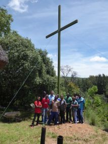 Team with Cross
