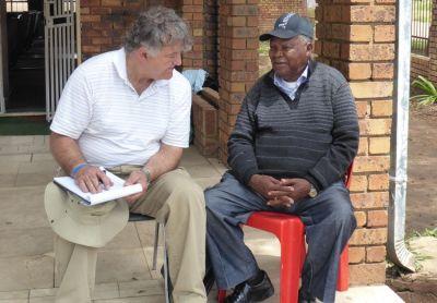 Pastor Bill hears Pastor Molefe's Testimony