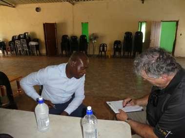 Pastor Bill interviewing Pastor Chimunhu