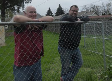 Jeff and Brandon Bower (Father and Son) Giving God Glory for the Cross and Life Recovery Home #1