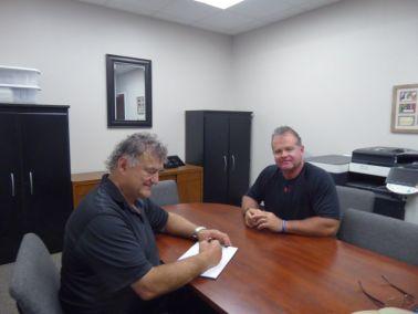 Interviewing Pastor Rick