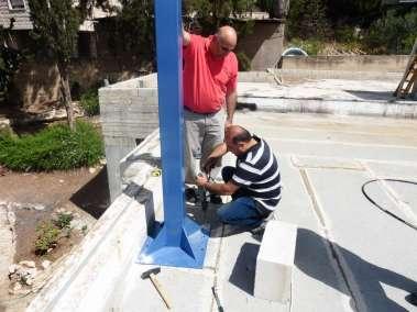 Drill into concrete