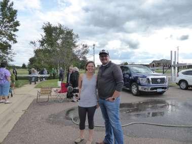 "Rebecca and Jermiah Sedler ""Declaring God's Glory"" over Isanti, Minnesota"