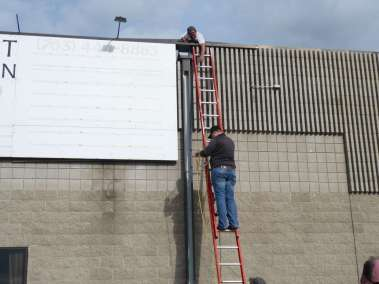 Securing the roof top for lifting
