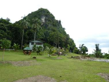 Bato means Stone --- the camp is built at the base of a very large stone