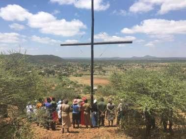 Cross Team viewing Village