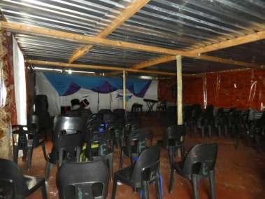 Inside current church