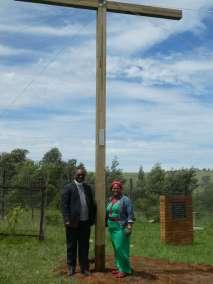 Reverend Makoko and wife Pauline