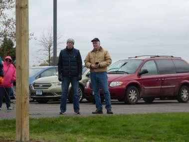 Pastor Steve on the left. Pastor Gary Cross #034 on right