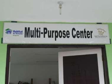 Habitat for Humanity Philippines donated Multi-Purpose Dorm
