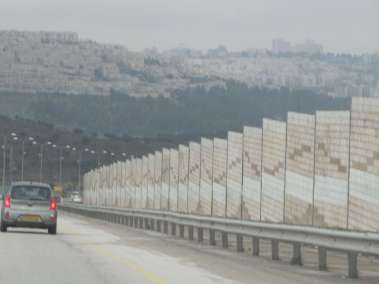 Part of the Separation Wall