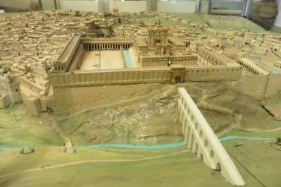 Scale model of First Temple period
