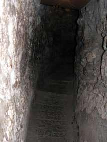 Tunnels beneath the Old City of Jerusalem