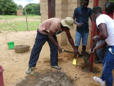 Adding Concrete for Stability