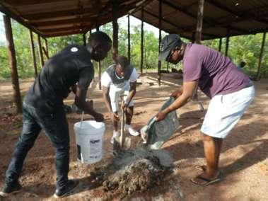 Preparing Concrete