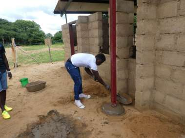 Tending to Drying Cement
