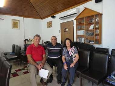 Pastor Bill, Rev. Butros and Rimona