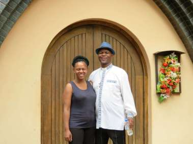 Father Lawrence and Wife Masechaba