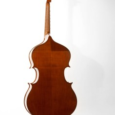 Violone nach Gasparo da Salò, Boden aus Kirsche/ back made of cherry