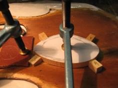 Stimmfutter Violine/ soundpost patch