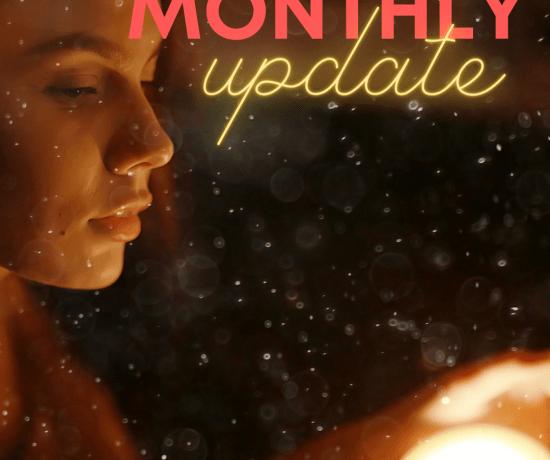 monthly updates word count
