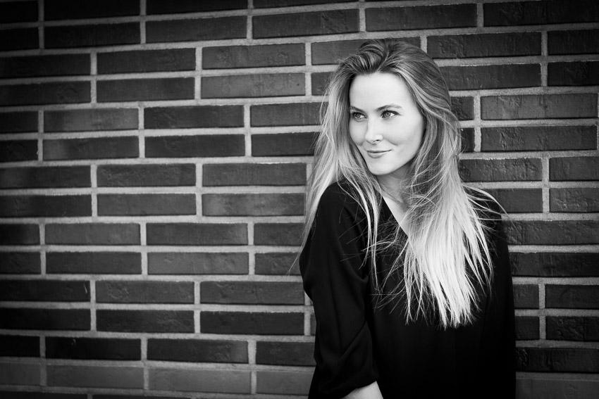 Johanna Austen, Fotoshooting Hafencity Hamburg