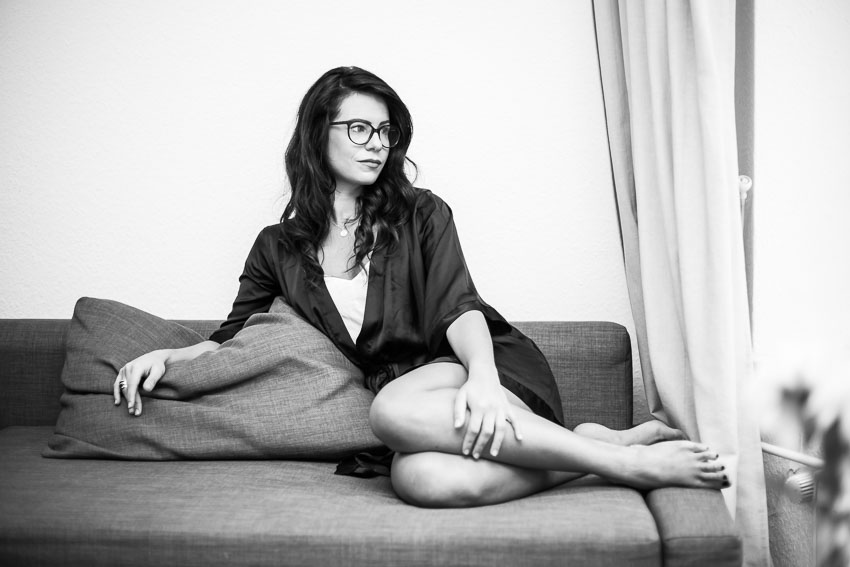 Angelique Geray, Fotoshooting in Hamburg