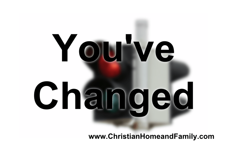 You've changed - changing spouses