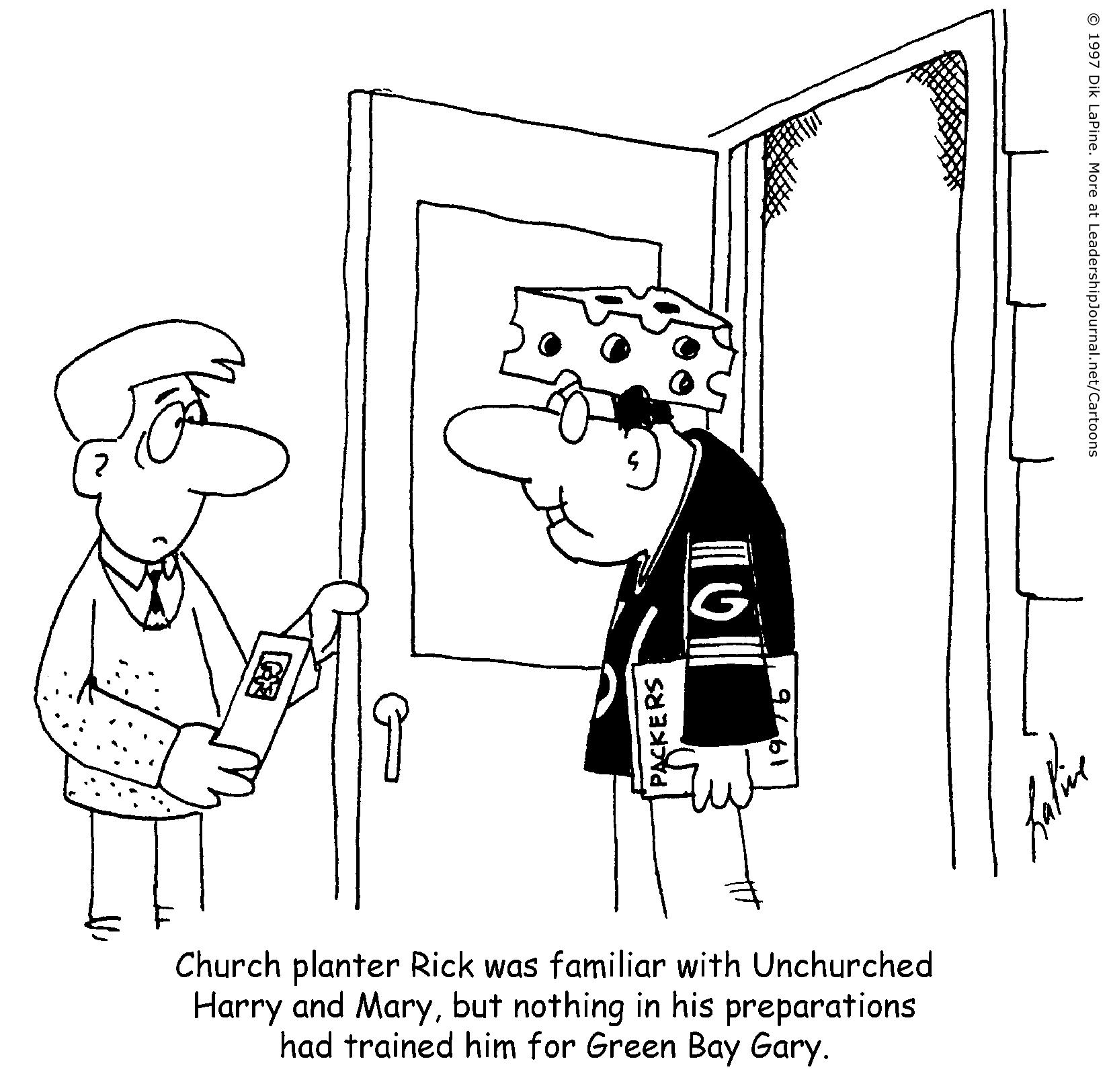 Church Planting In Football Season