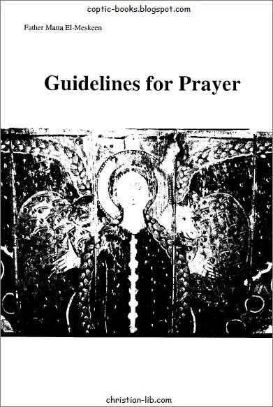 Guidelines for Prayer