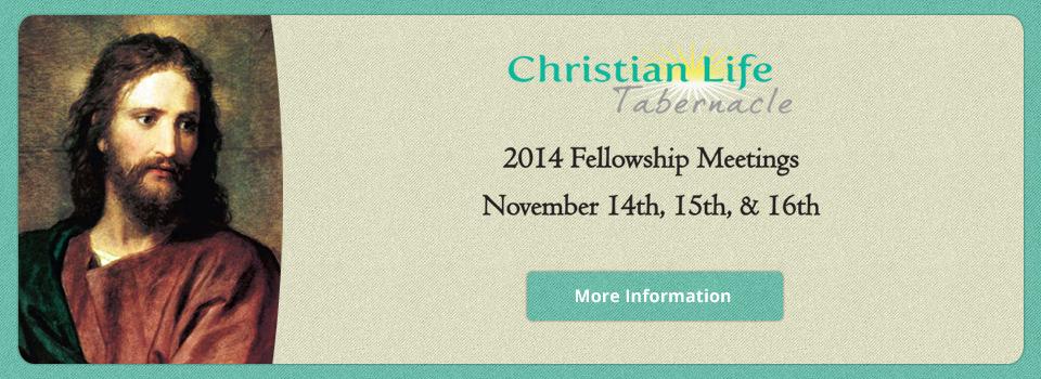 Fellowship Meetings 2014
