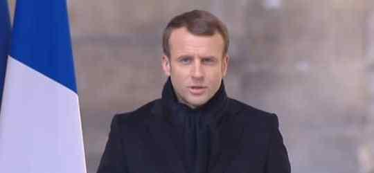 Discours d'Emmanuel Macron en hommage à Jean d'Ormesson