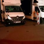 Polensprinter geparkt