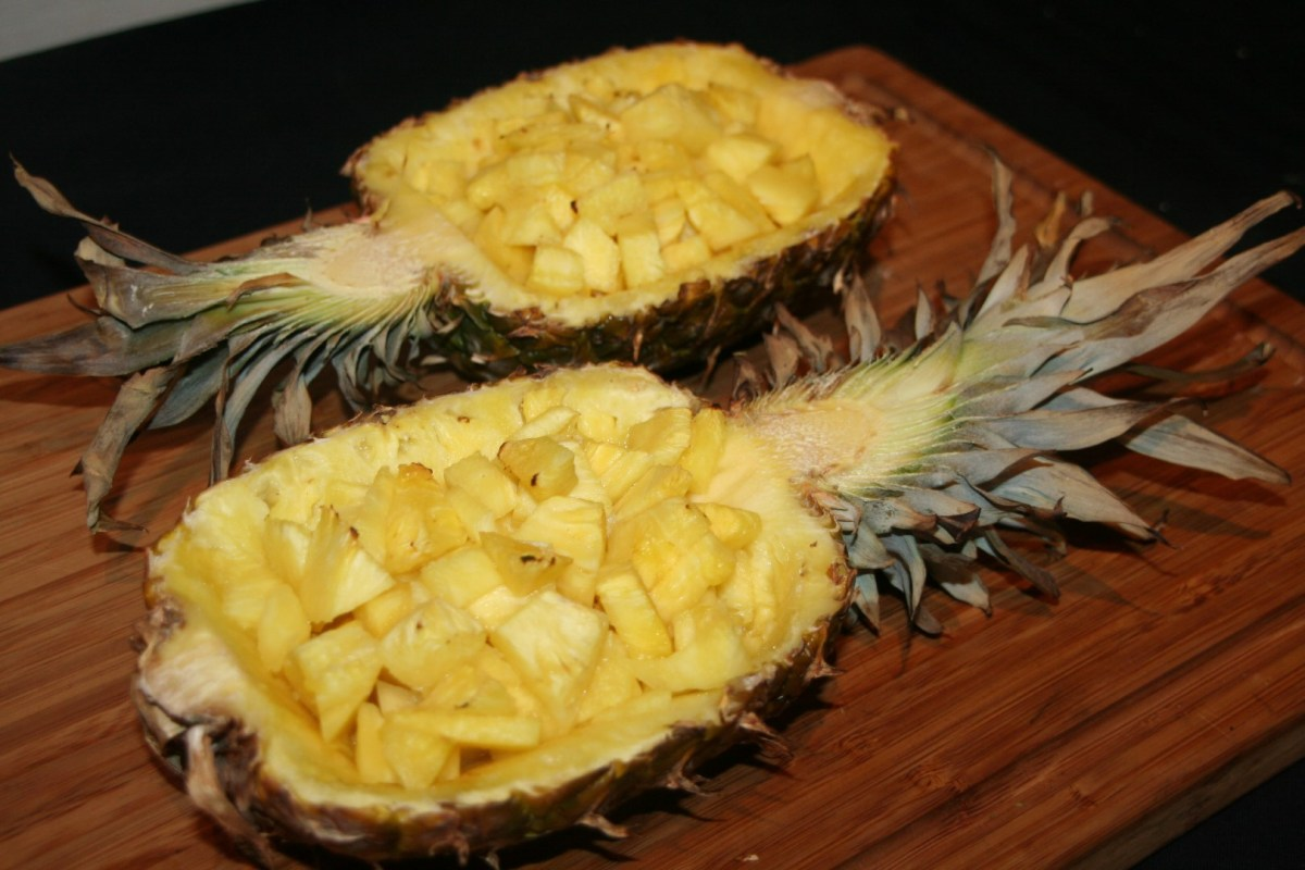 Gerookte ananas