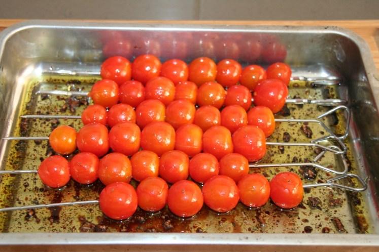 Spies cherry tomaat - Marineren