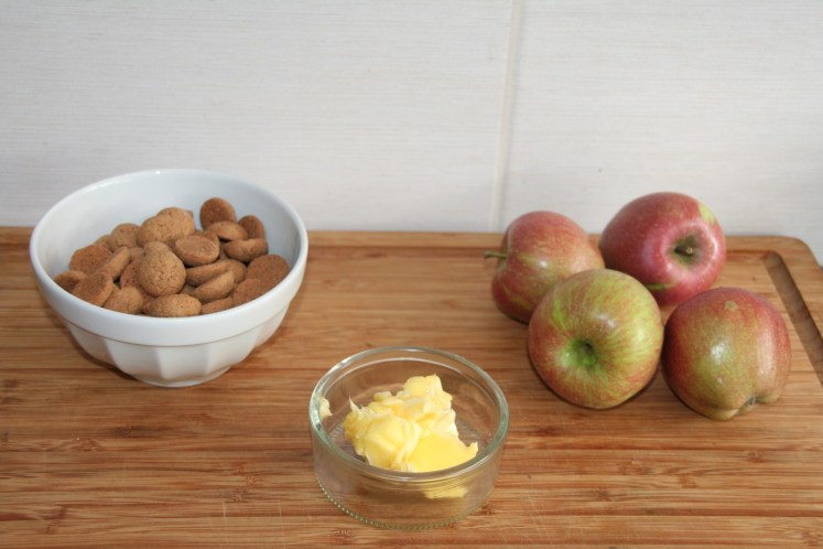 Kruidnoten Crumble - Ingredienten