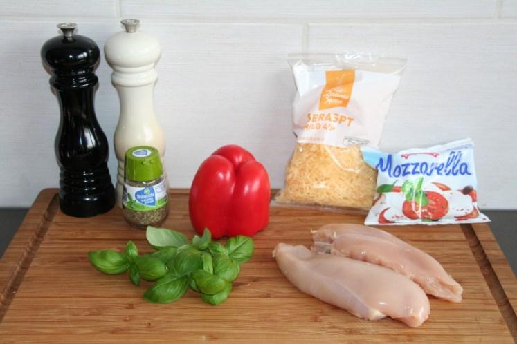 Gevulde kip - Ingredienten