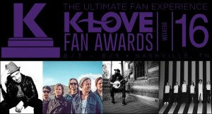 TobyMac, Switchfoot, Crowder And More To Perform At The 2016 K-LOVE Fan Awards