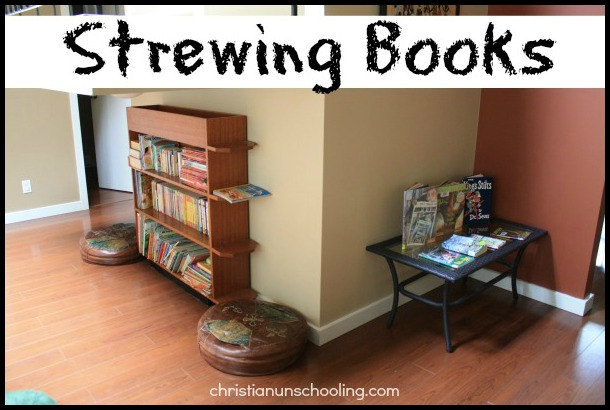 unschooling strewing