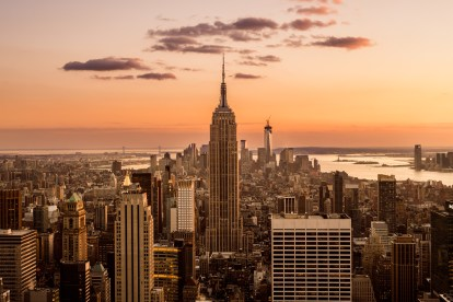 Empire State Building, New York City Sunset