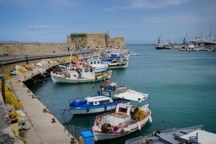 Heraklion fortress, Crete, Greece
