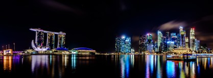 Marina Bay Skyline, Singapore
