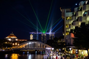 Marina Bay Sands Laser Show, Singapore