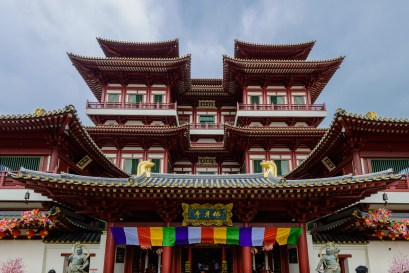 The Buddha Tooth Relic Temple and Museum, Singapore