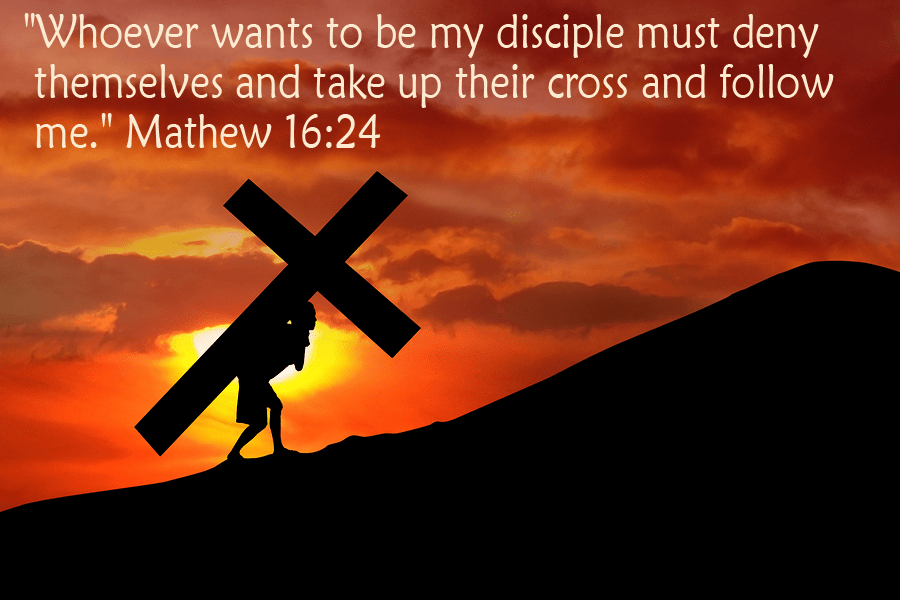 Image result for take up your cross and follow me