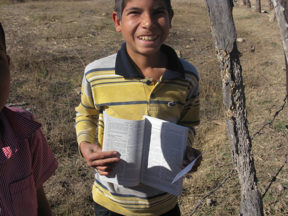 Give the Word gave out over 10,000 Bibles last year.