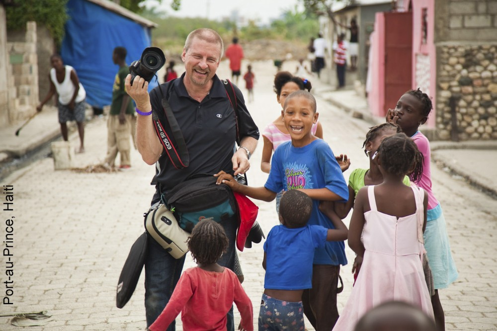 Ron Nickel in Haiti.