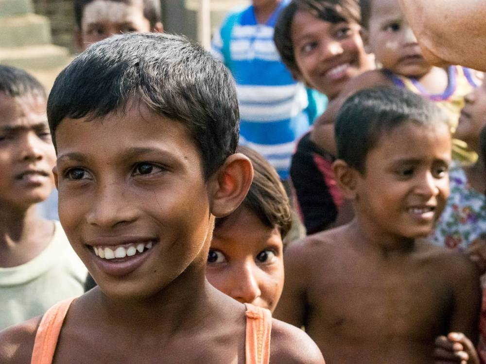 Rohingya children. Photo courtesy Partners Relief and Development.