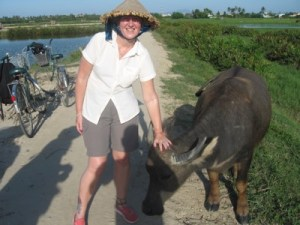 Cycle_ride_in_Vietnam_with_local_cow