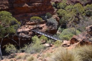 Kings Canyon high bridge
